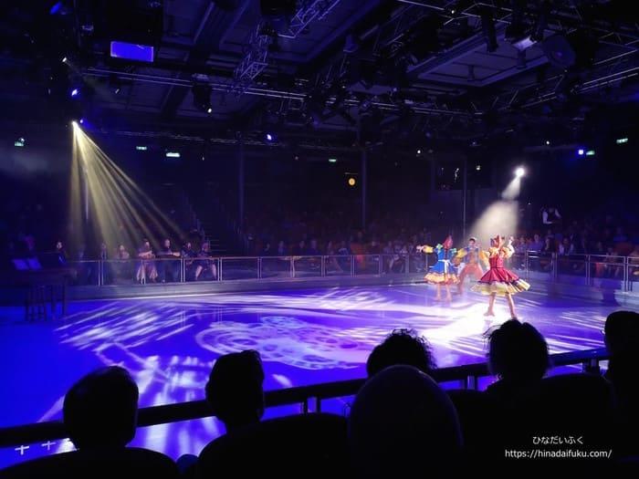 アイススケートショー座席