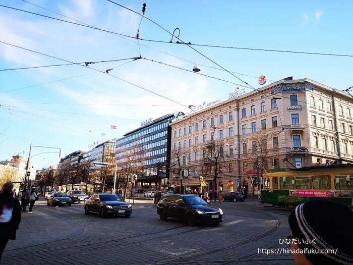 ヘルシンキ街並み