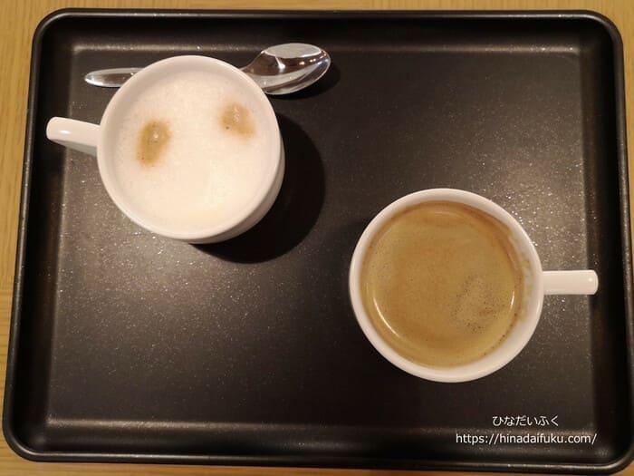 国内線サクララウンジコーヒー