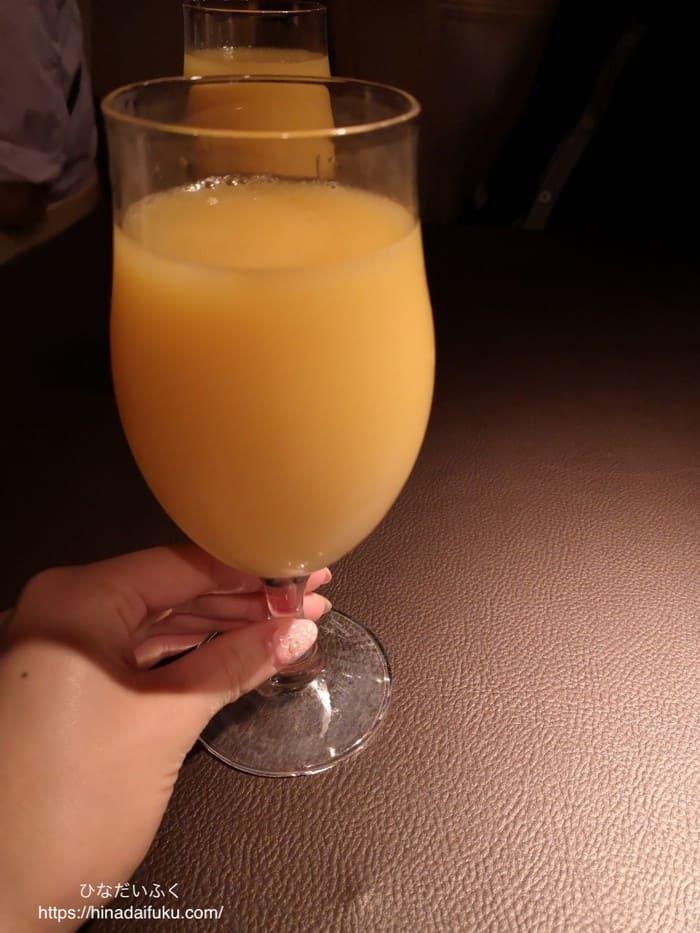フラメンコオレンジジュース