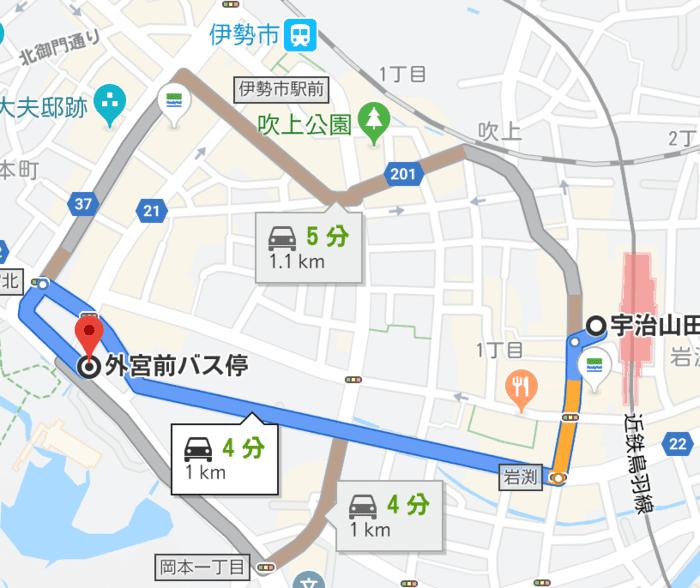宇治山田〜外宮