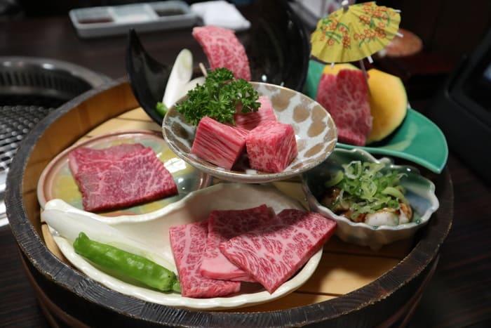 長太屋の焼肉