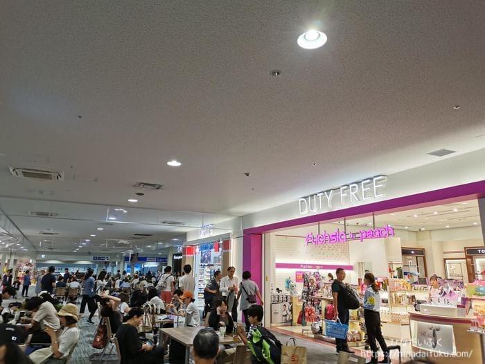 関空第二ターミナル免税店