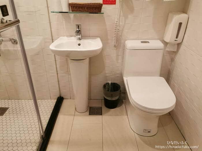スカイワンホテルトイレ