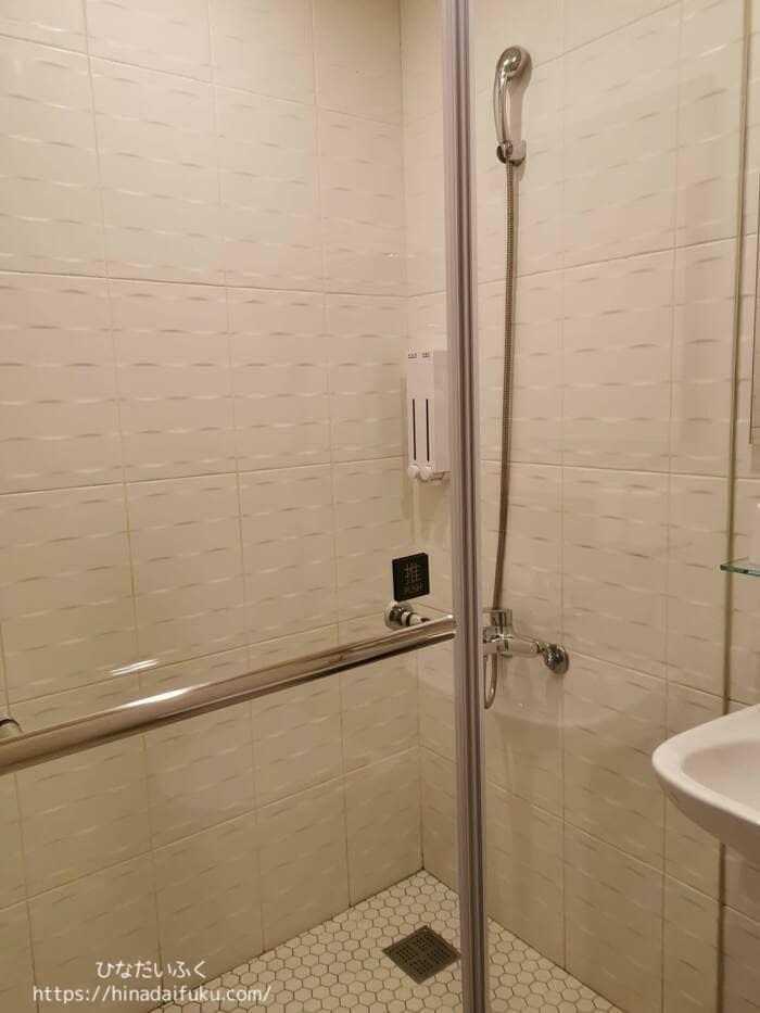 スカイワンホテルシャワールーム