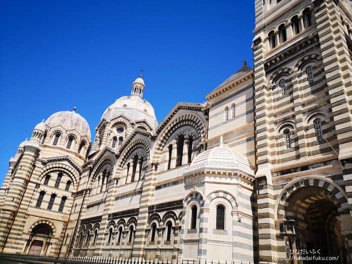 マルセイユ大聖堂周辺