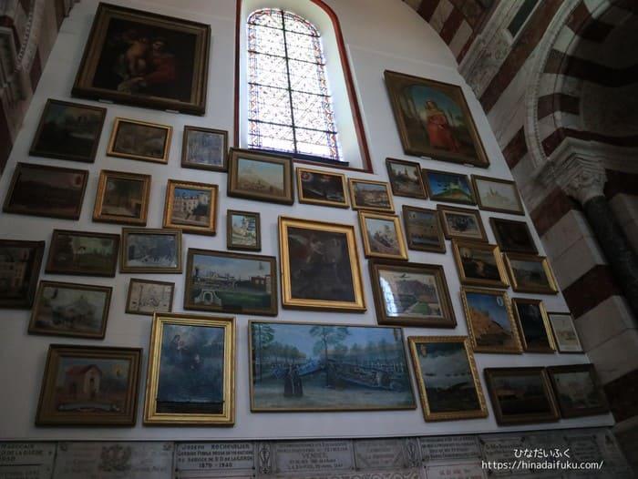 マルセイユ大聖堂絵画