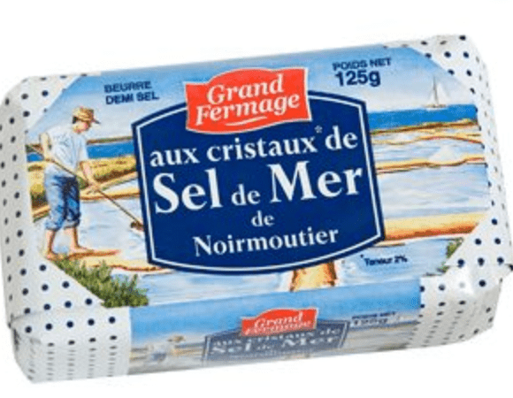 岩塩入りバター