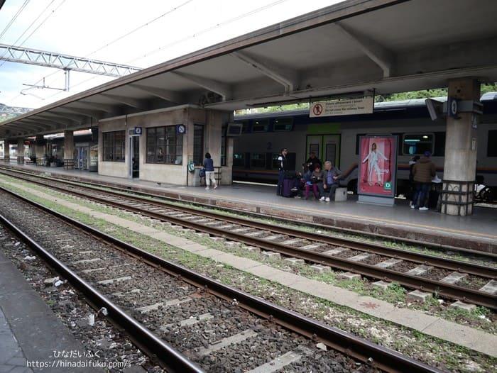 チンクエテッレの駅