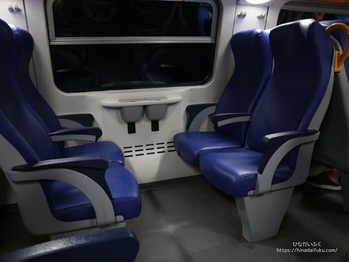 ラスペツィアの電車