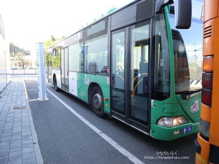 港無料シャトルバス