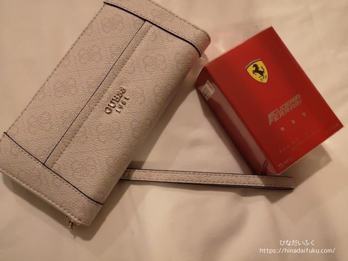 財布と香水