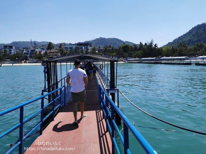 パトンジェティ桟橋