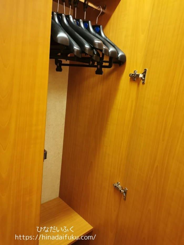 内側客室ハンガー2