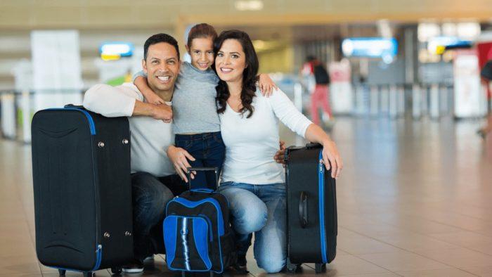 空港で快適に過ごす