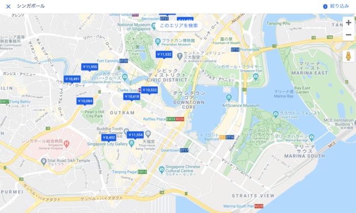 シンガポールのホテル選び方