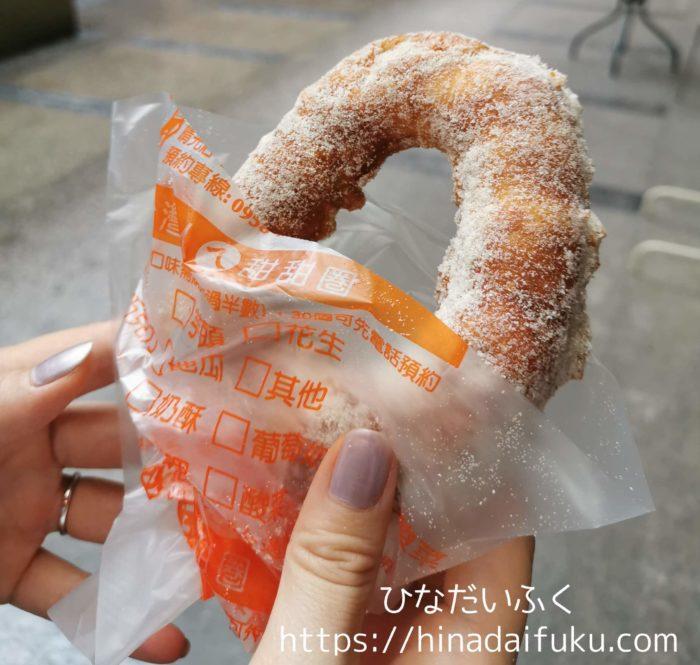 台湾ドーナツ出来立て