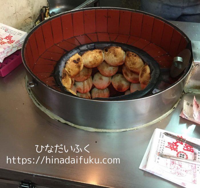 福州世祖胡椒餅焼き上がり