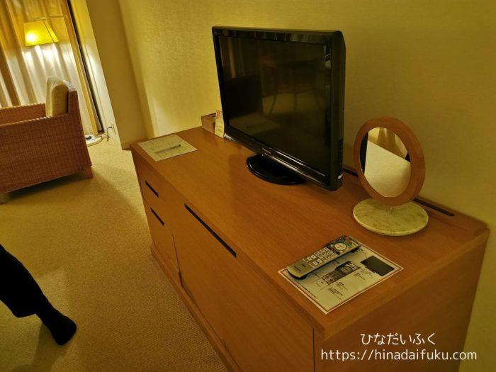 サザンビーチホテルテレビ