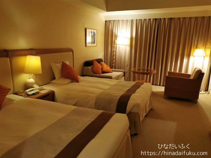 サザンビーチホテル部屋