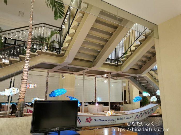 サザンビーチホテル1階