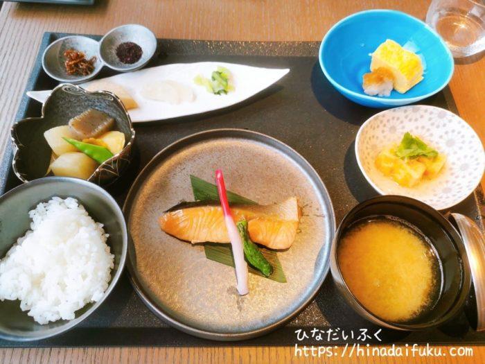 インターコンチ横浜朝食和定食