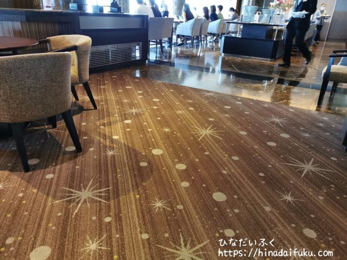 横浜ロイヤルパークホテルシリウステーブル