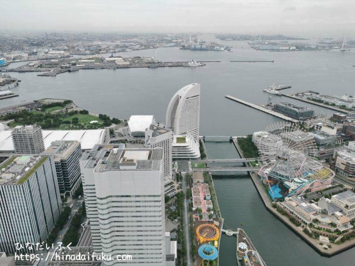 横浜ロイヤルパークホテルベイブリッジビュー昼間