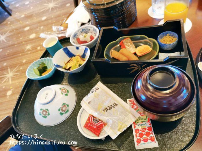横浜ロイヤルパークホテル朝食和食