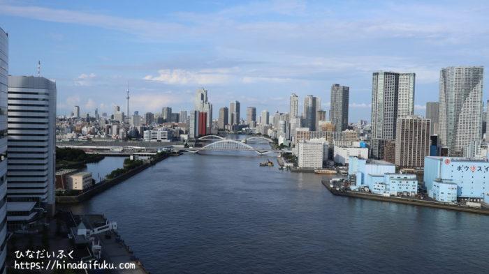 インターコンチネンタル東京ベイ部屋からの景色