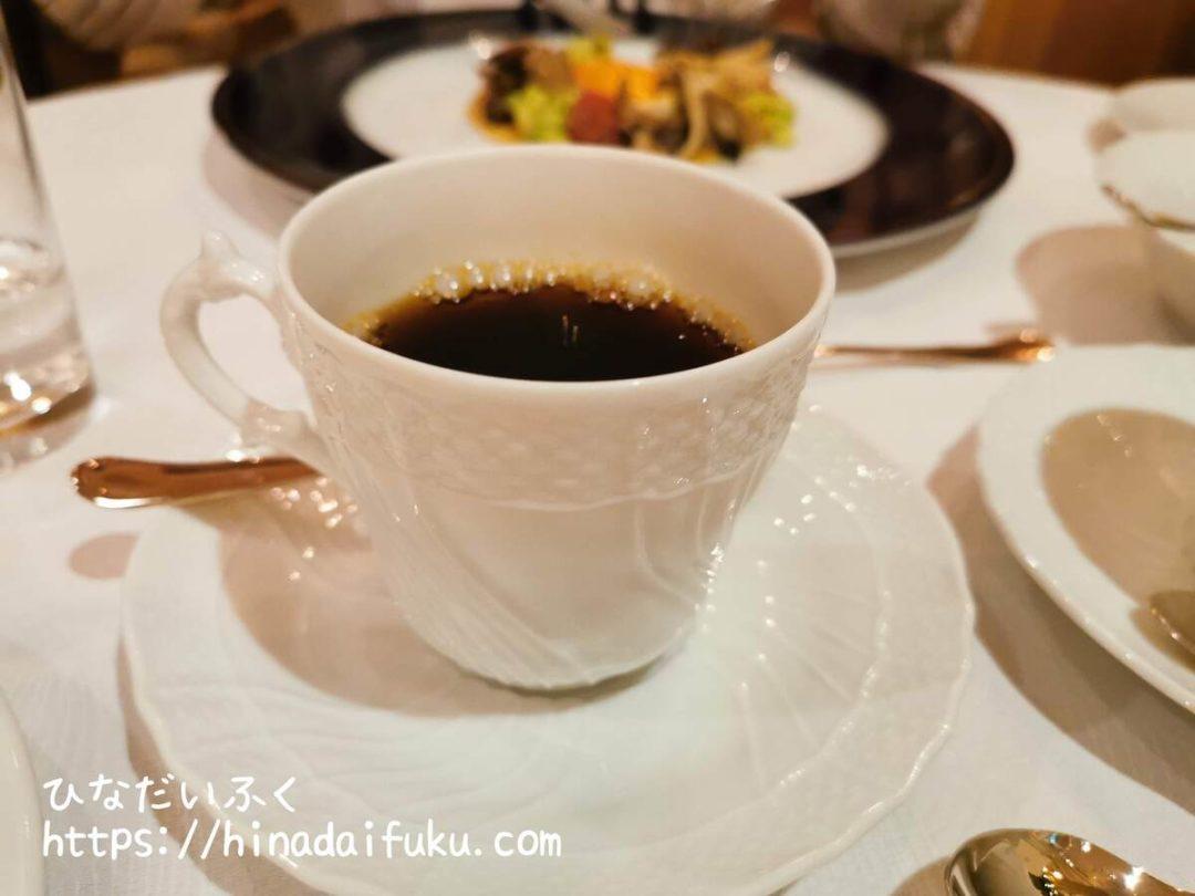 ヨコハマグランドインターコンチネンタルアジュールコーヒー