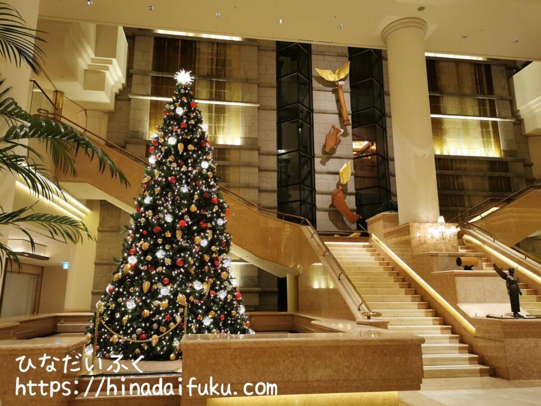 ヨコハマグランドインターコンチネンタル1階階段