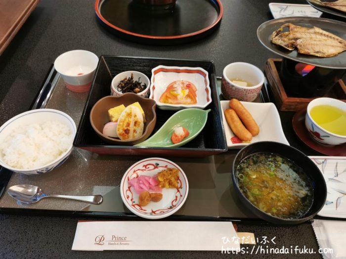 箱根湯の花プリンスホテル朝食
