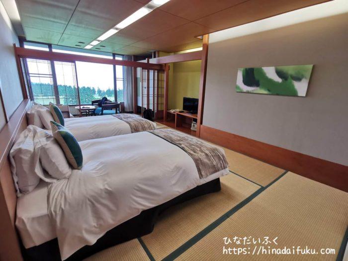 箱根湯の花プリンスホテル部屋