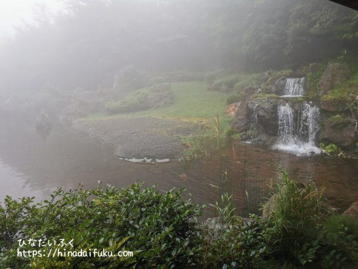 箱根湯の花プリンスホテル食事会場からの眺め
