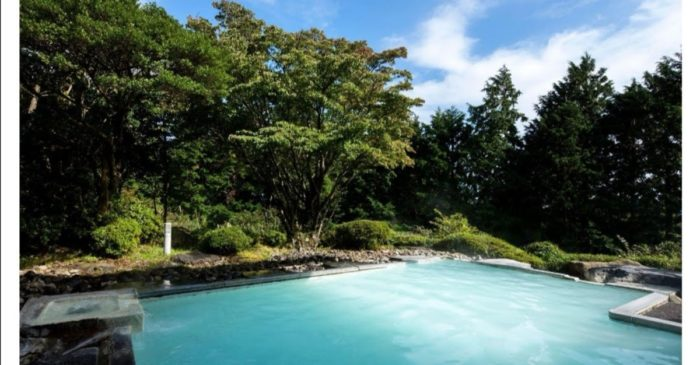 箱根湯の花プリンスホテルの露天風呂