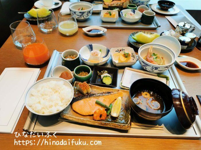 ザ・プリンスギャラリー東京紀尾井町朝食和食