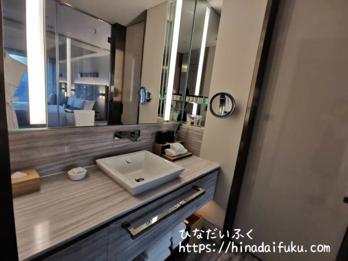 ザ・プリンスギャラリー東京紀尾井町洗面所
