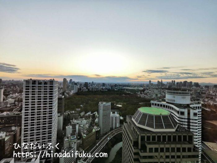 ザ・プリンスギャラリー東京紀尾井町部屋からの景色昼間