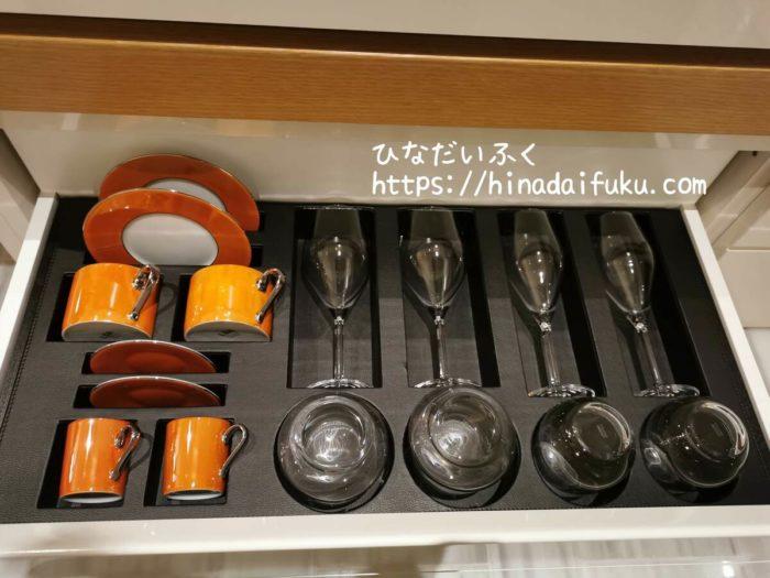 ザ・プリンスギャラリー東京紀尾井町食器