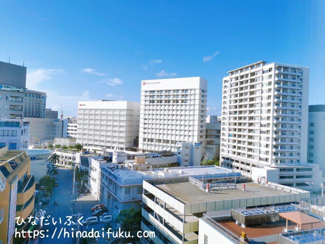 東急ステイ沖縄窓からの景色
