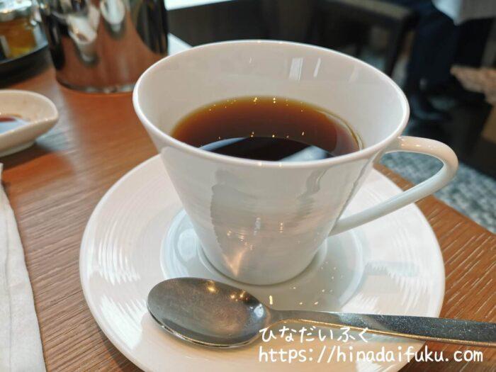 プリンスギャラリー朝食コーヒー